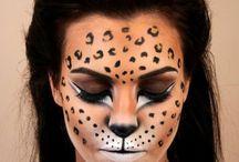 Maquillage léopard guépard