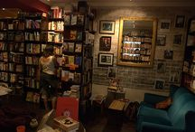 Inspirations for a Bookstore-Coffee Shop / by Roselle NN