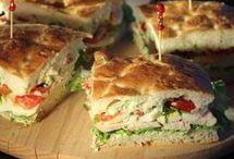 Club sandwich lunch