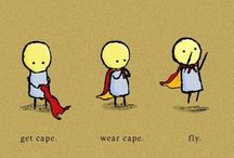 illustration - superheros