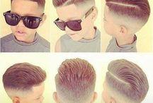 Haarschnitt Boy
