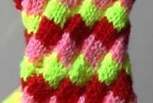 pletení - knitting/videa