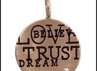 Heather B. Moore / Heather Moore Jewelry is the finest personalized charm collection. Each name, date, and symbol is hand stamped with vinatge tooling and made to your specifications with recycled precious metals.