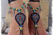 barefoot sandals diy / by Jessica Smith