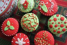 Christmas Cupcakes / Cupcakes de Natal 2014 / -