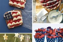 Patriotic Holiday Recipes and Crafts  / by Donna Ingalls