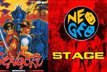 Sengoku Denshou / Sengoku foi uma série lançada pela Neo Geo em 1991. O seu género de jogo é um Beat'em up.