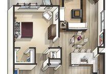 Mode Floor Plans / Get a peek of Mode's variety of luxury floor plans.