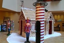 Gingerbread - it's not just for eating! / JQH Hotel Associates created gingerbread houses for the holiday season.