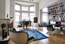 Interior design favorites / Binnenkijken bij interieurs waarvan wij houden