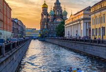 SPB in Summer / Saint Petersburg, Russia in summer.