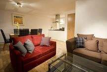 The Vaughan Apartment (RW5) / This property is on the upper ground floor; has views over The Great Glen mountain range; has a double bedroom, twin bedroom; en-suite with shower cubicle and toilet; family bathroom with bath and shower over the bath. Sleeps up to 6 people.