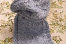 Knitting Sjaal scarf free pattern