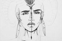 Meus desenhos / Desenhos que faço enquanto prático e me divirto :)