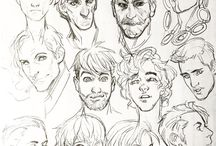 Face/hair references