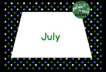 July Resources / July resources and ideas for the elementary classroom - summer school ideas