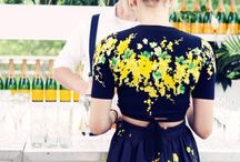BRIGHT SPRING STYLE / Colorful fashion and inspiration for Spring