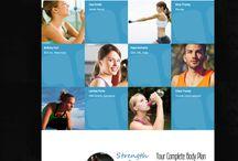 Sport,Gym & Fitness WordPress Themes