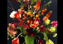 Vaas en bloemen