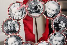 santa photos yearly