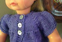 Knitting for dolls
