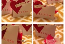 Valentine's Day Place cards / Place cards / by Faith Brown-Hermann