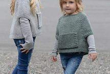 Detské pletené oblečenie