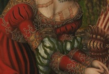 Renaissance Puff & Slash Gowns / I must confess I think some these women look kinda scary, but I love the dresses.