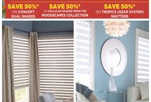 Shade O Matic - On Sale During our Spring 17 Sales Event / Let's Decorate this Spring!  Take advantage of amazing savings during our Spring Blind and Drapery Event until March 31!  Save 50% off Shade O Magic -concept dual shades and on cellular shades from Moodscapes Collection  50% off installation on Tropics (Gear System) Shutters.  Stop buy our showrooms for more information  www.alleen.com #windowtreatments #shadeomatic #customwindowtreatment #sale #shades #alleens
