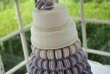 Brookey wedding cake