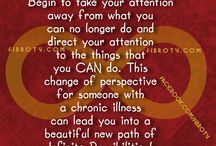 Positive Message for People Battling Chronic Health Issues
