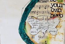 {art journaling} / Capturing art journal ideas from all over the place . . .visit my Art Journaling II board for my latest additions.