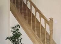 escaliers bois balustrades