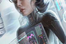 Tecnology / INSPIRAÇÃO para sci-fi