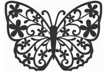 나비 도안