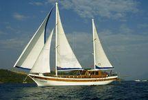 ULUCINAR / #sailing, #yacht, #bluevoyage, #yachtcharter, www.cnlyacht.com