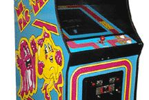 Ms. Pac-Man Video Arcade Game for Sale / Looking to have some nostalgic arcade gaming fun? Buy or rent this vintage Ms. Pac-Man video arcade game! Check out our site for other vintage arcade games for sale by www.arcadespecialties.com