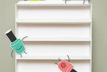 Storage & Organization-Foam Board