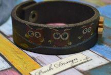 PushDesign Leather works / PushDesign handmade bracelets
