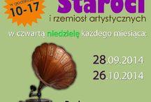 Park nad Czarnym Potokiem w Rymanowie-Zdroju / Tablica informacyjna o wydarzeniach odbywających się w parku nad Czarnym Potokiem w Rymanowie-Zdroju.