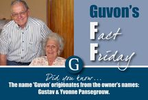 Guvon's Facts / Guvon Hotels & Spas share some interesting facts about our properties, products and offerings
