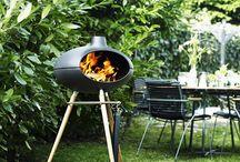 By Morso / Morso est une marque danoise spécialisée dans les fours à pizzas, braséros, grills et cheminées.