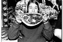 famous people eating