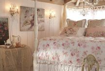 Cottage bedrooms / by Tina Eustace