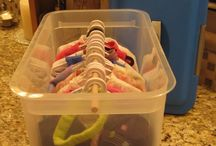 Alternative clotches storage