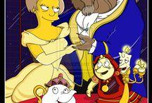 la vida de los  Simpsons