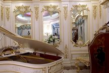 luxury life style / luxury furniture and decoration