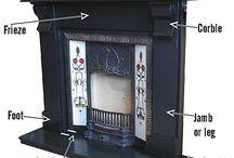 Fireplaces / by Barbara Hellinga