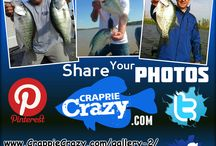#1 Crappie ONLY Social Media Source / We are the #1 Social Media Source for Crappie & Crappie Fishing