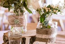 Rustic Wedding Theme / Beautiful and rustic weddings